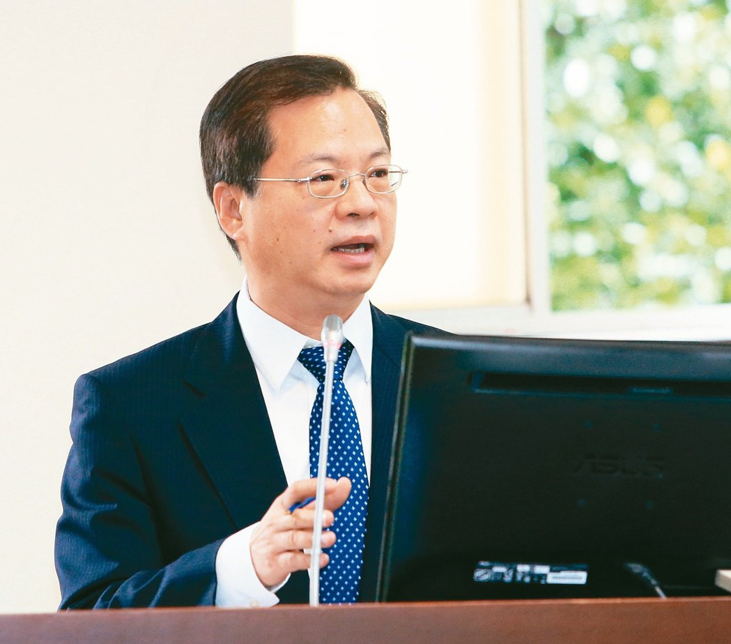 國發會主委龔明鑫 記者潘俊宏/攝影