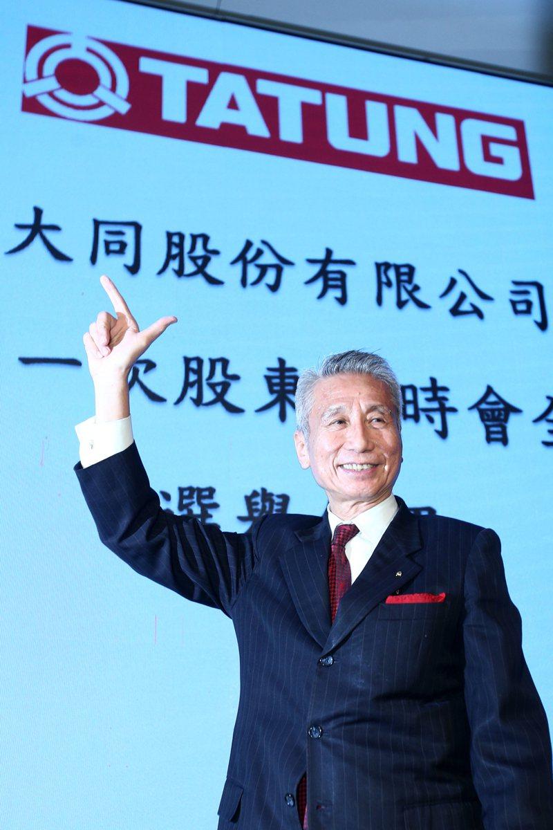 三圓建設董事長王光祥主導的大同市場派衝破「林郭防線」,取得經營權。 記者蘇健忠/攝影