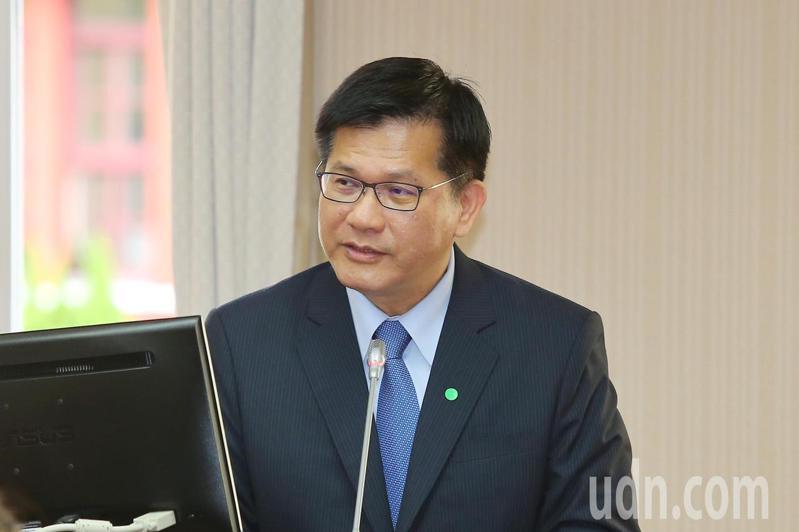 交通部長林佳龍。聯合報系記者林伯東/攝影