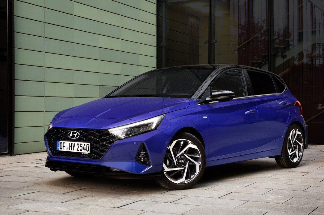 第三代Hyundai i20。 摘自Hyundai