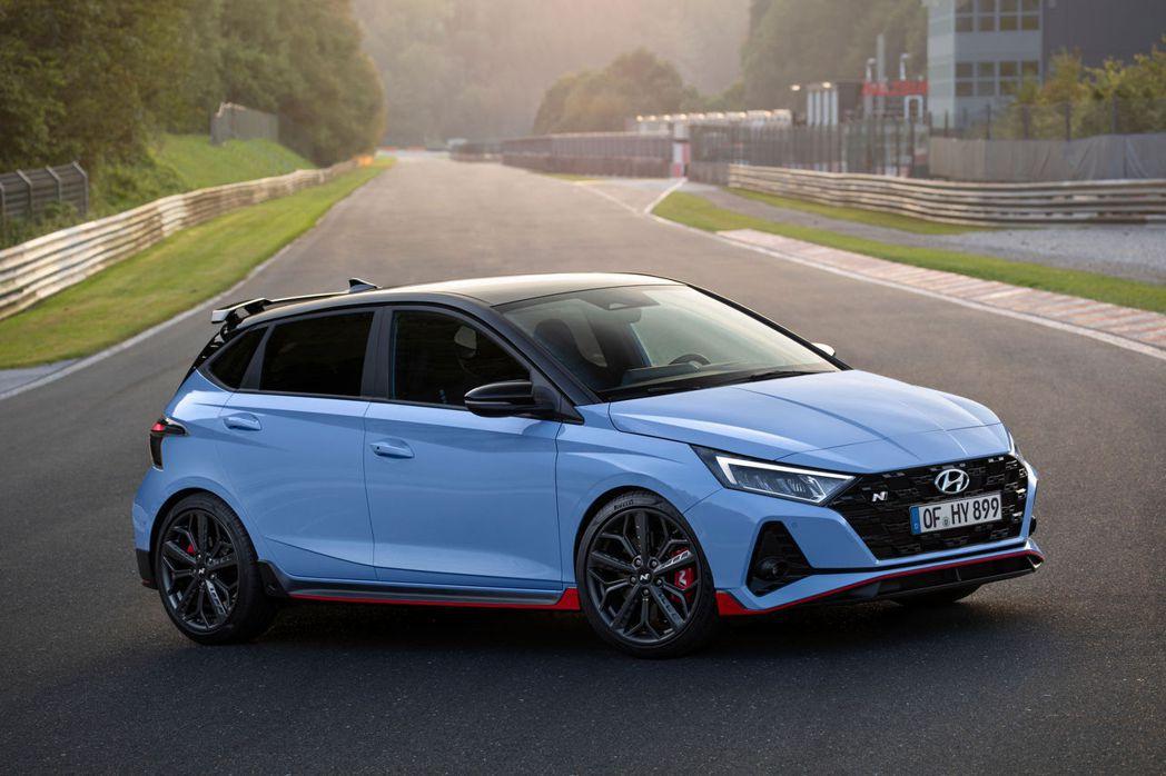 全新Hyundai i20 N共有六種車身塗裝可以選。 摘自Hyundai