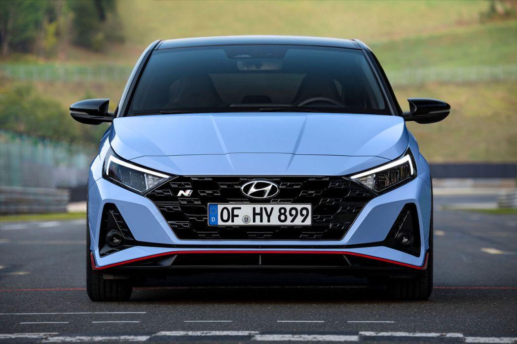 全新Hyundai i20 N是品牌第二款N Performance車系。 摘自...