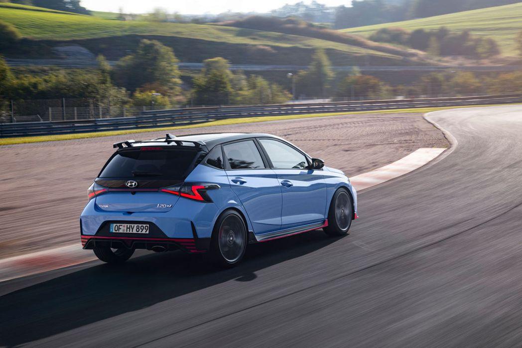 全新Hyundai i20 N預計在2021年春季於歐洲上市。 摘自Hyunda...