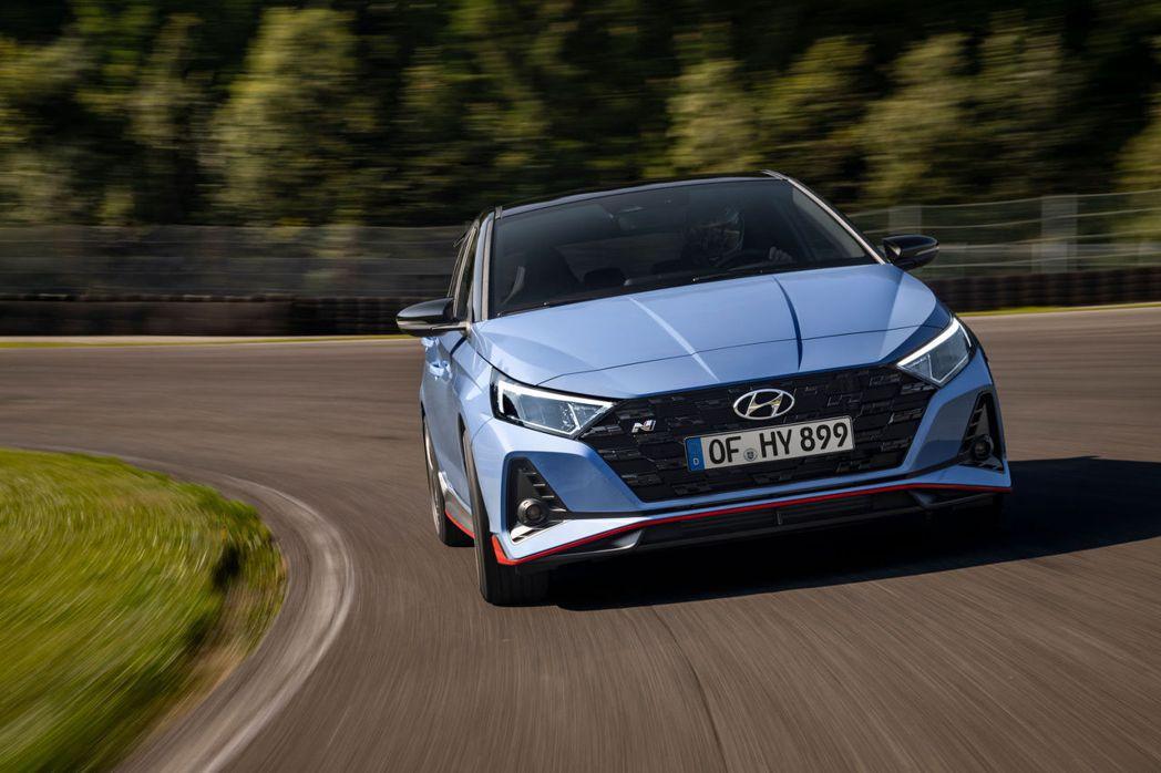全新Hyundai i20 N。 摘自Hyundai