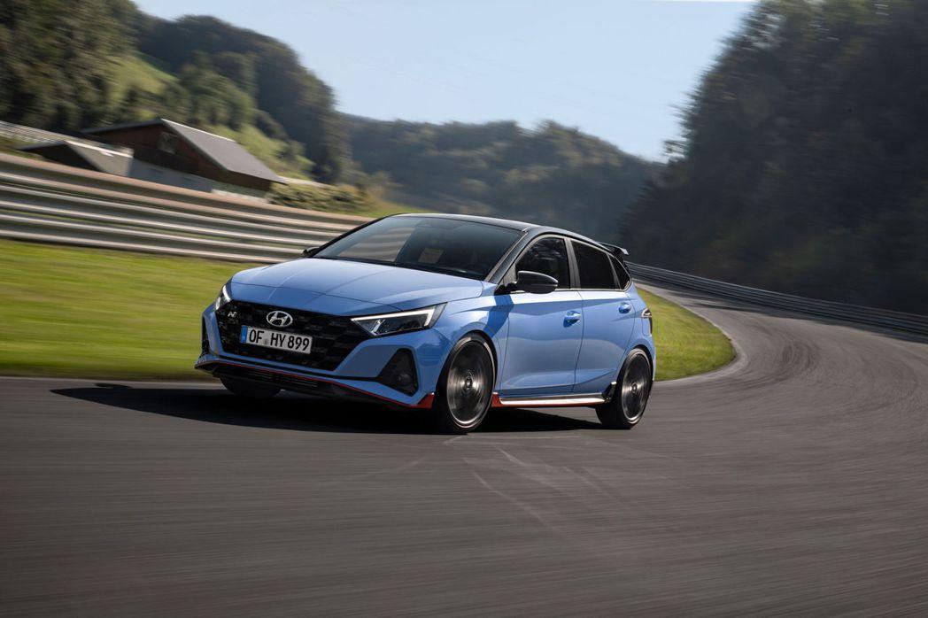 全新Hyundai i20 N成為品牌第四款性能車。 摘自Hyundai
