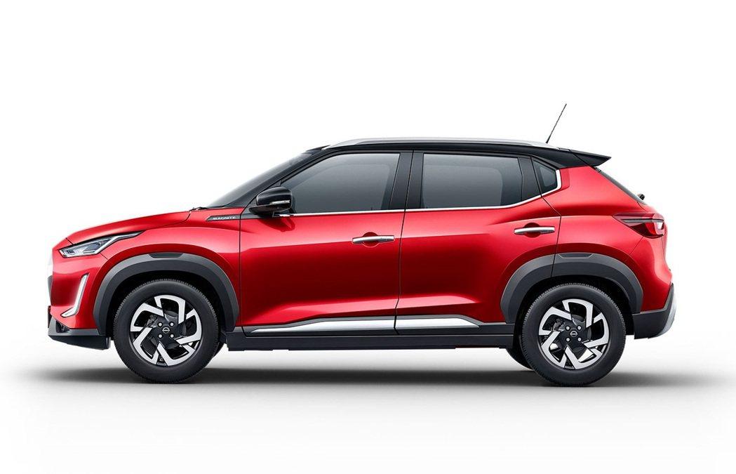 2 Tone車頂設計與新造型鋁圈凸顯年輕氣息。 圖/Nissan提供