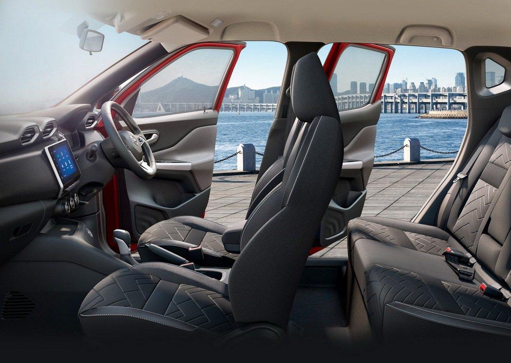 B-Segment級距能有寬敞的車室空間也是Magnite的特色之一。 圖/Ni...