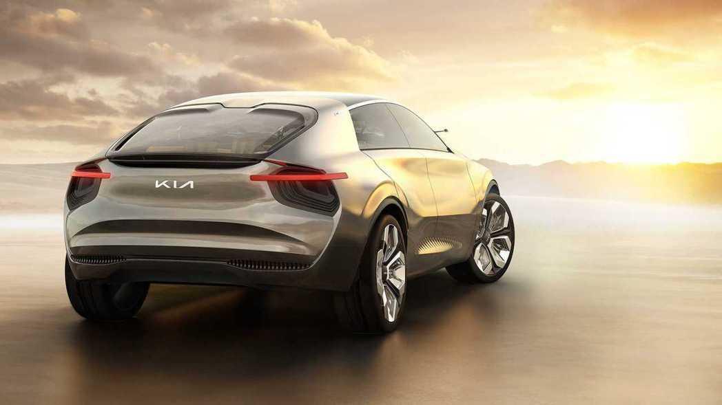 Kia品牌代號CV的純電動車預定將在2021年現身。 摘自Kia