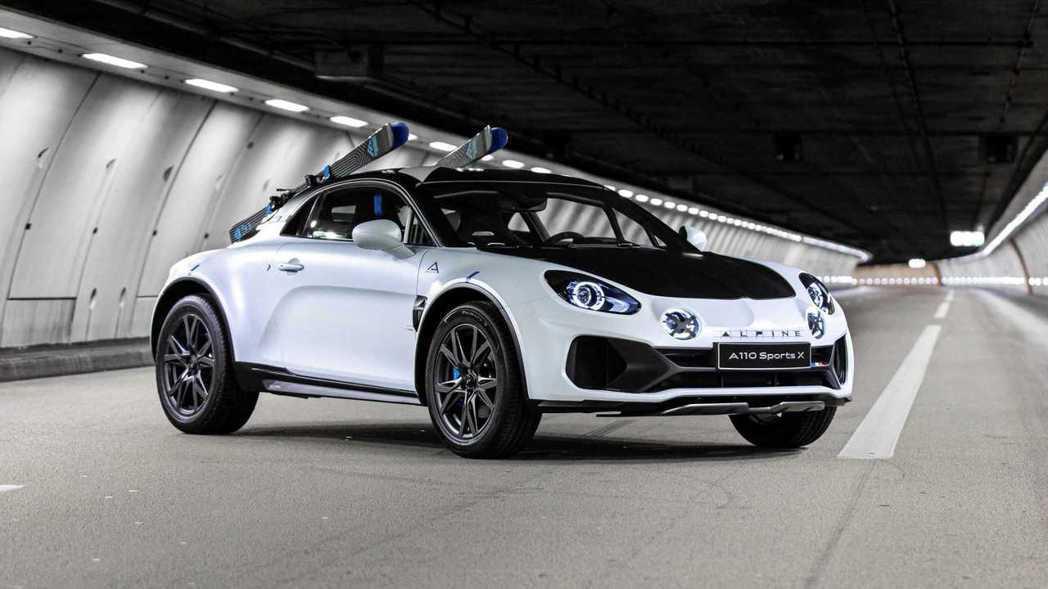 Alpine A110 SportsX概念車。 摘自Alpine