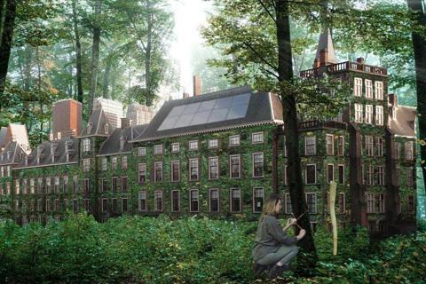 2035年,荷蘭設計師Romy Snijders透過其設計裝置,讓人也能理解樹木...
