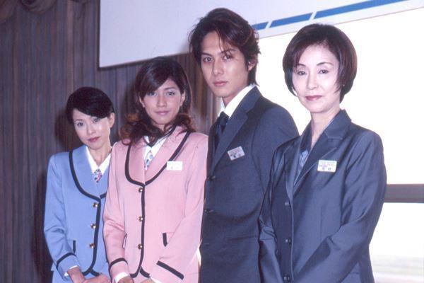 柏原崇與內田有紀曾合作演出日劇《未來空港》。圖/擷自日媒《女性自身》