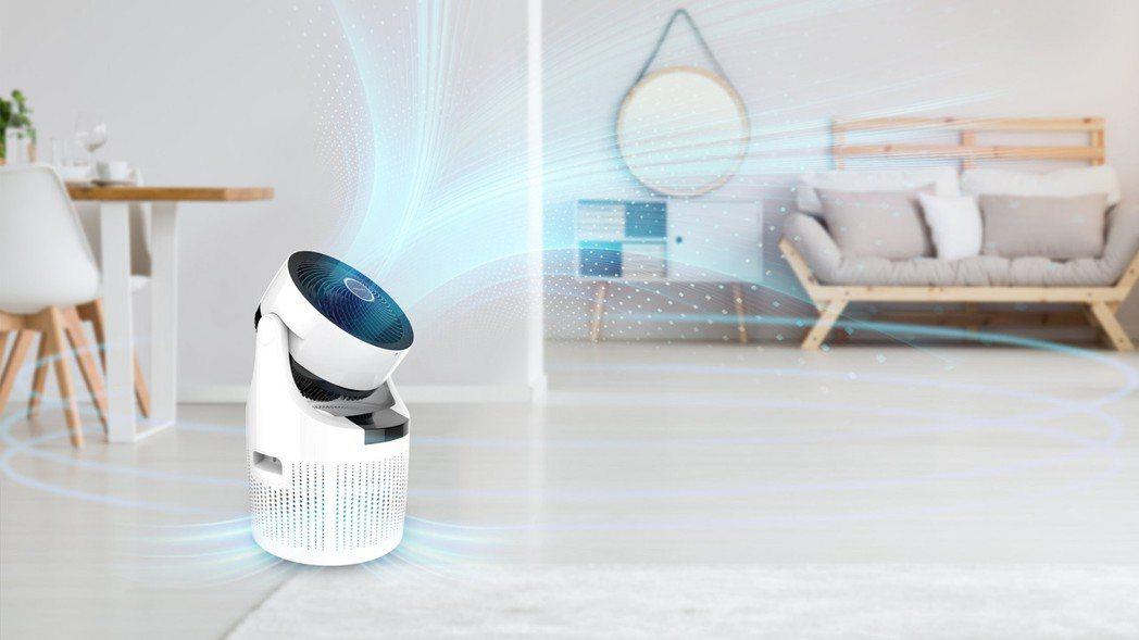 acerpure cool二合一空氣循環清淨機。 擷取AcerPure官網。