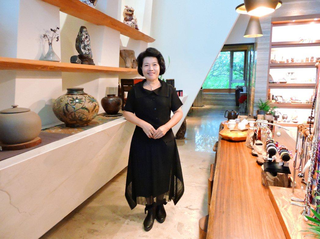 立閣人文旅店董事長張麗玉創造「有刻度」的服務品質。 立閣人文旅店/提供