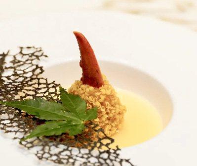 寶麗軒以本地食材融入傳統粵菜。 圖/摘自米其林官網