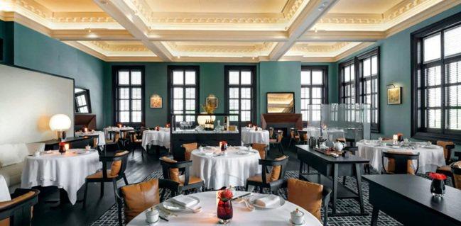 新二星粵菜餐廳「寶麗軒」內景。 圖/摘自米其林官網