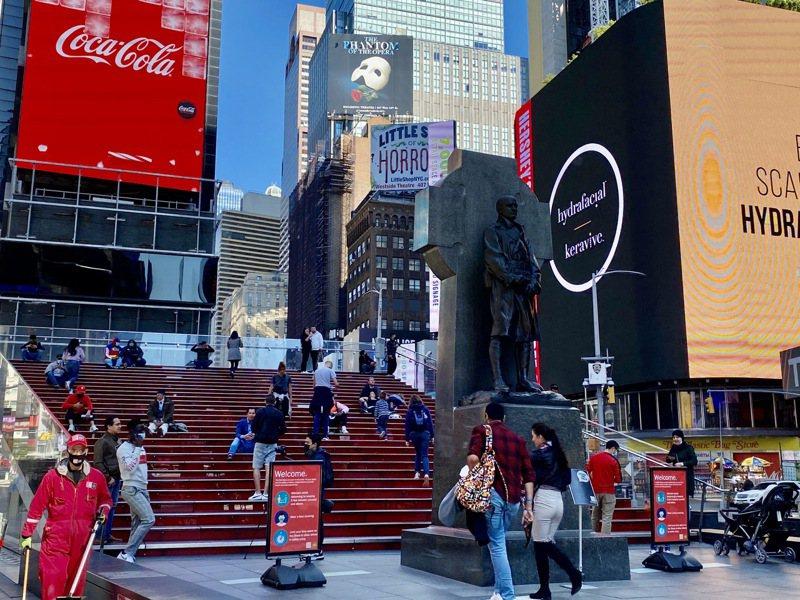 美國入秋後2019冠狀病毒疾病疫情惡化,紐約州單日確診率升至1.6%,創4個月來新高。大。記者金春香攝影/報系資料照