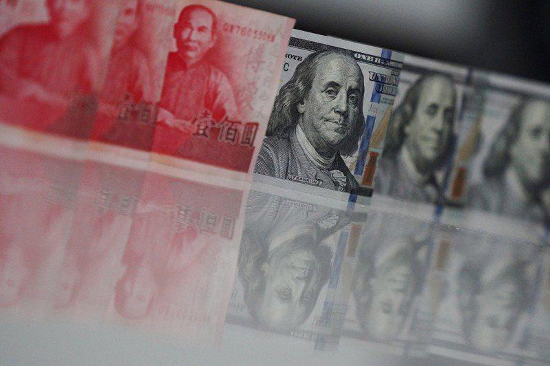 新台幣近期不斷升值。 中央社