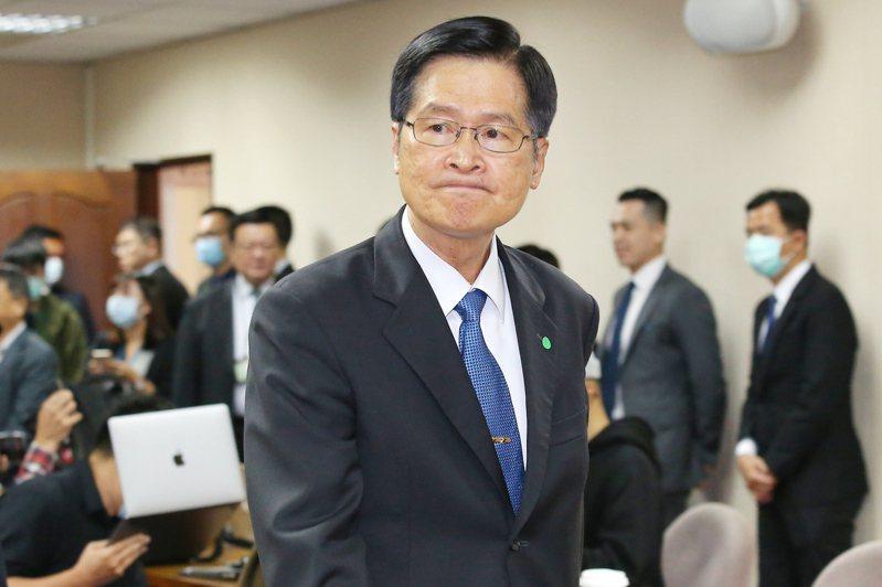國防部長嚴德發。記者林伯東/攝影