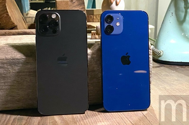 ▲iPhone 12 Pro、iPhone 12