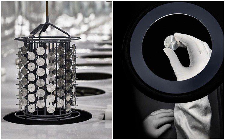 每一片金屬表面的製造過程,同樣出自製表工廠中的資深專家。圖 / 翻攝自ig。