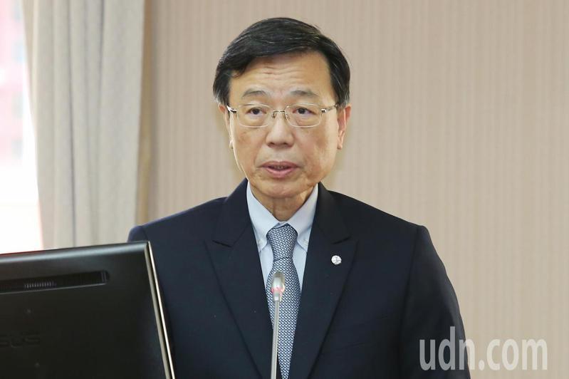 台鐵局長張政源上午出席立法院交通委員會。記者林伯東/攝影