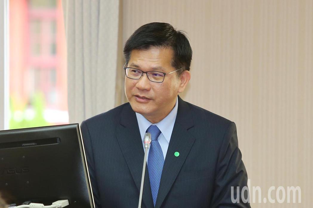 交通部長林佳龍上午出席立法院交通委員會。記者林伯東/攝影