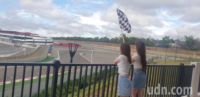 麗寶樂園賽車主題旅店T12,旅店內有房間可看到賽車最佳視野。記者游振昇/攝影