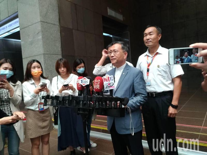 台北市長柯文哲昨表態大巨蛋明年完工,2025世界壯年運動會的開幕場地也選定於大巨蛋舉辦。記者林麗玉/攝影