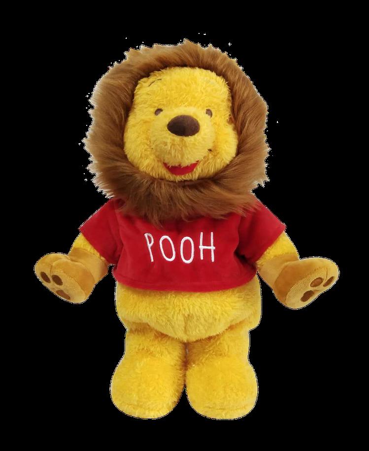 小熊維尼電動玩偶獅子款,11月14日上市。圖/HOLA提供