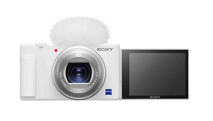 Sony發表ZV-1 全新晨曦白新色,讓消費者能依據個人特質與性格挑選適合自己的...