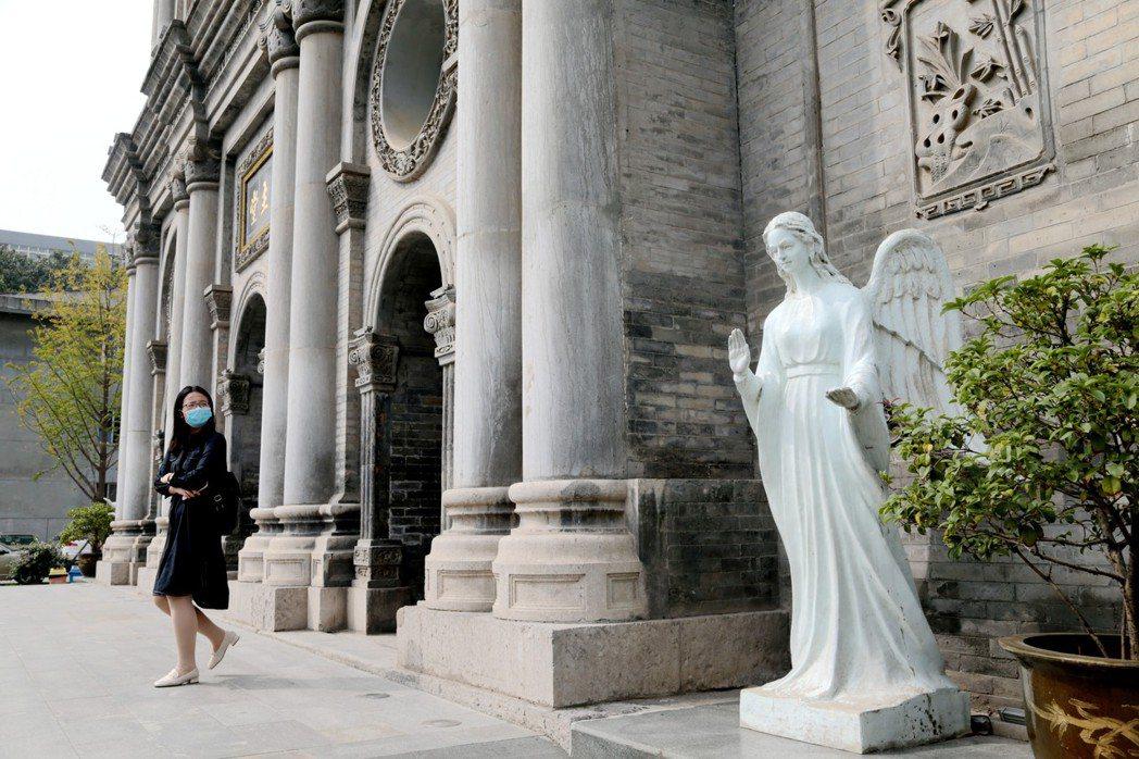 圖為位於西安已有300多年歷史的天主教堂。中新社