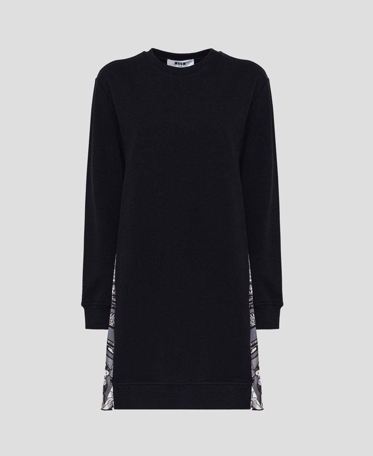 MSGM秋冬系列連衣百褶裙16,300元。圖/藍鐘提供