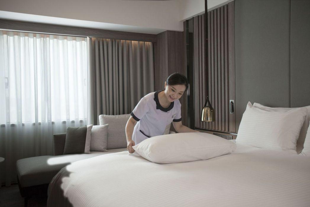 高雄福華飯店推出「熟齡時尚樂活遊」住房專案。照片/業者提供