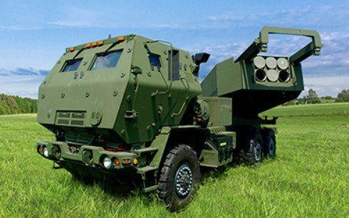洛克希德馬丁公司生產的「高機動性多管火箭系統」(HIMARS)。圖/洛克希馬丁官網