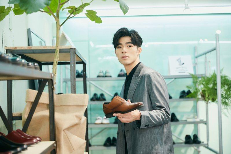 陳昊森出席plain-me「革靴勿論」快閃活動記者會。圖/plain-me提供