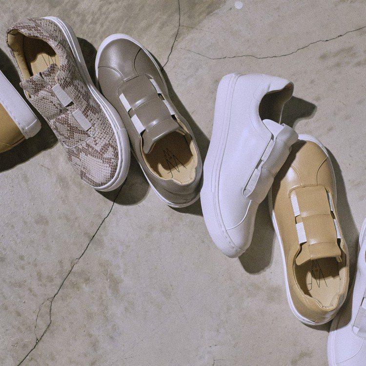 WF by WF 皮革休閒鞋,售價6,000元。圖/plain-me提供