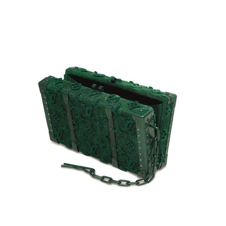 VIRGIL ABLOH設計路易威登限量版綠色TUFFETAGE MONOGRA...