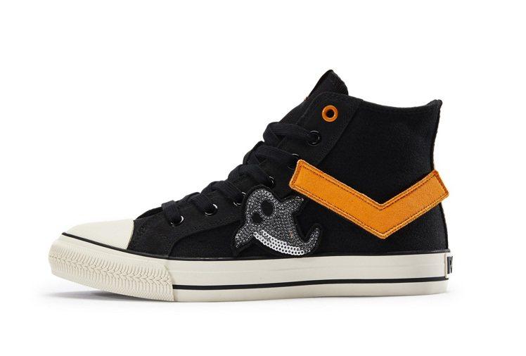 PONY萬聖節SHOOTER帆布鞋2,380元。圖/PONY提供
