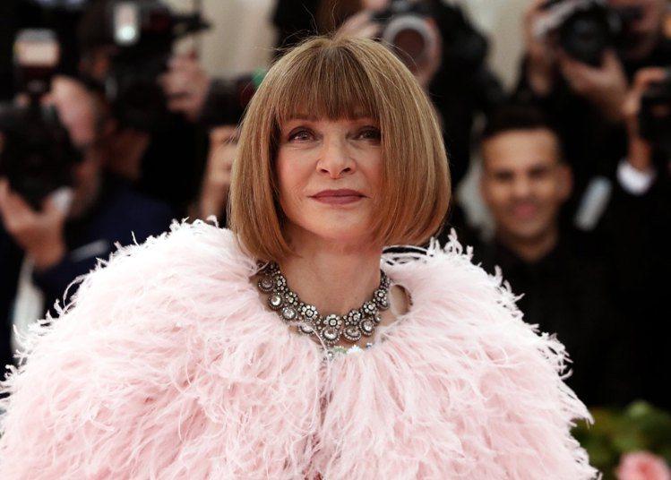 安娜溫圖是著名的時尚女魔頭。圖/路透資料照片