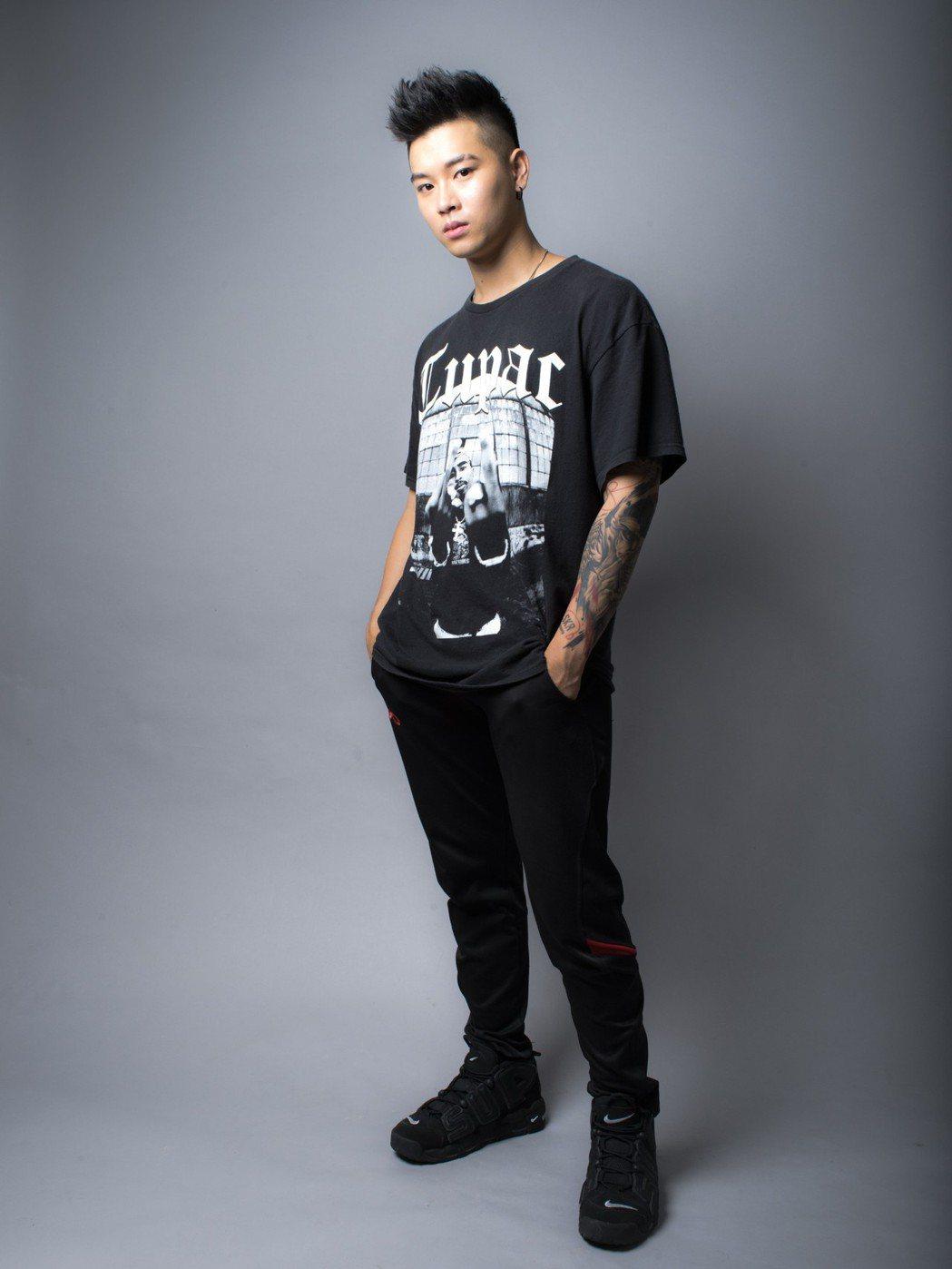 「最強嘻哈新人」高爾宣。圖/TVBS提供