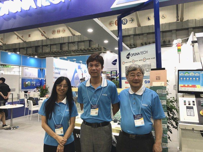 達航科技管理處資深副總孫逸敏(中)、達航副總李慧玲(左)。記者尹慧中/攝影