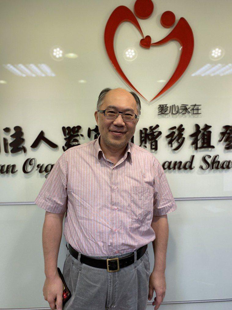 林口長庚醫院移植中心副主任江仰仁是泌尿科醫師。記者簡浩正/攝影