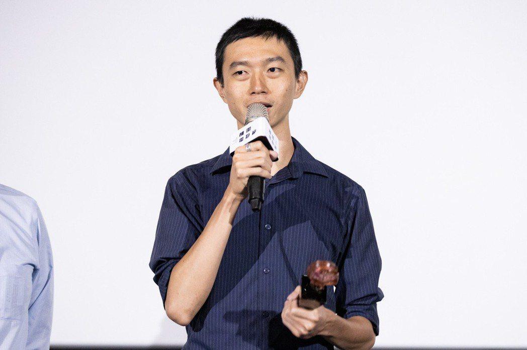 導演林亞佑以「主管再見」拿下桃園電影節台灣獎最佳影片。圖/桃園電影節提供