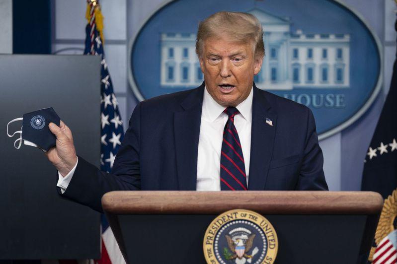 美國總統川普。美聯社