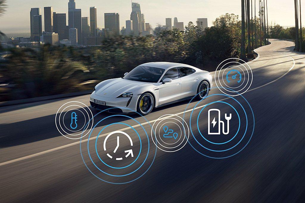 保時捷Taycan配備AVA車輛警示系統,當行駛於0-20km/h之間的車速,無...