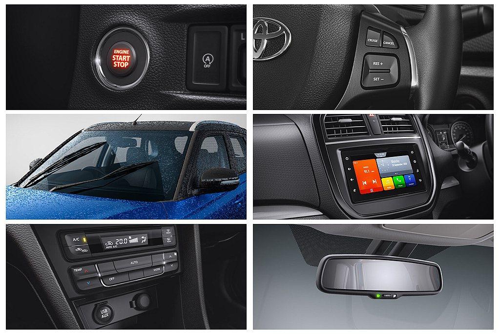 Toyota Urban Cruiser導入Start/Stop引擎啟動按鈕、自...