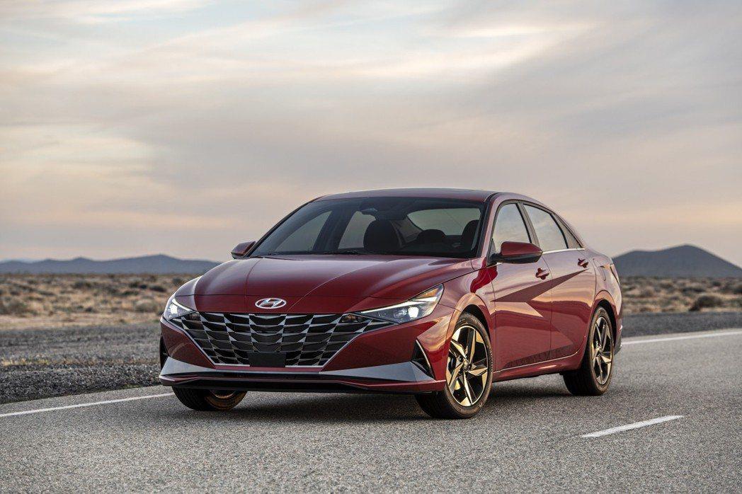 第七代Hyundai Elantra正式登陸北美準備販售。 摘自Hyundai