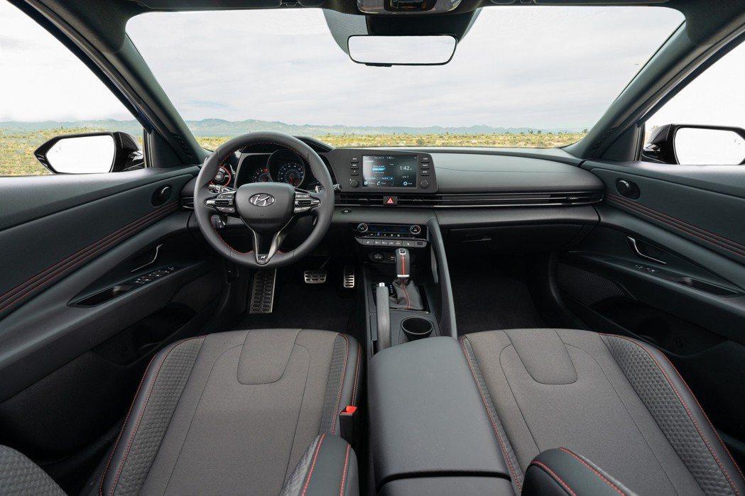 全新美規Hyundai N Line內裝。 摘自Hyundai