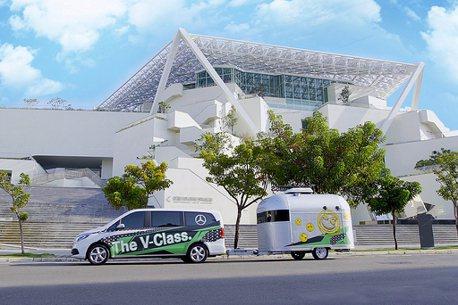 賓士《The V-Class星動之旅》今年再啟動!前進全台五大城市