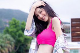 8月剛生完小孩 「八爺」老婆陳凱琳狂曬細腰美胸引讚嘆